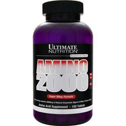 Ultimate Nutrition Amino 2000 Super Whey Formula 150 tabs