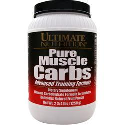 ULTIMATE NUTRITION Pure Muscle Carbs Fruit Punch 2.76 lbs