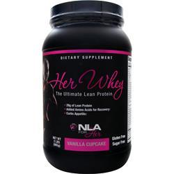 NLA FOR HER Her Whey Vanilla Cupcake 2 lbs