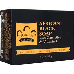 NUBIAN HERITAGE Bar Soap African Black Soap 5 oz