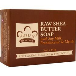 NUBIAN HERITAGE Bar Soap Raw Shea Butter Soap 5 oz