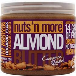 Nuts 'N More Almond Butter Cinnamon Raisin 1 lbs