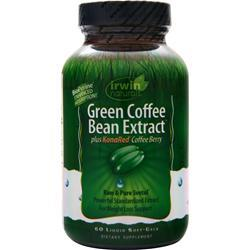 Irwin Naturals Green Coffee Bean Extract  EXPIRES 5/16 60 sgels