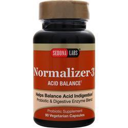 Sedona Labs Normalizer-3 - Acid Balance 90 vcaps