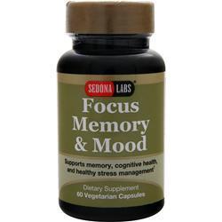 Sedona Labs Focus Memory & Mood 60 vcaps