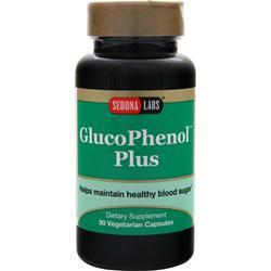 SEDONA LABS GlucoPhenol Plus Best by 9/15 90 vcaps