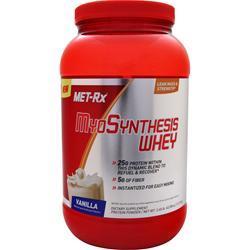 MET-RX MyoSynthesis Whey Vanilla 2.68 lbs