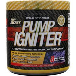 TOP SECRET NUTRITION Pump Igniter - Pre Workout Red Raspberry 225 grams