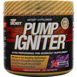 TOP SECRET NUTRITION Pump Igniter - Pre Workout Grape 98 grams