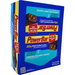 POWERBAR Protein Plus Bar Chocolate Mint Cookie 15 bars