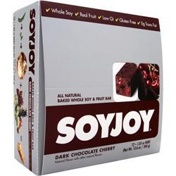 SOY JOY Soy Joy Bar Dark Chocolate Cherry 12 bars