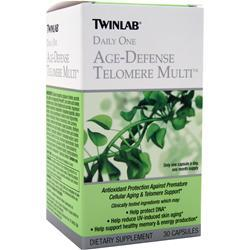 TWINLAB Daily One Age-Defense Telomere Multi 30 caps