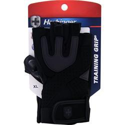 HARBINGER Training Grip Glove Black/Grey (Medium) 2 glove