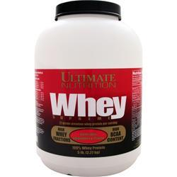 Ultimate Nutrition Whey Supreme - 100% Whey Protein Delicious Strawberry 5 lbs