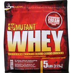 FIT FOODS Mutant Whey - Extreme Multi Whey Mega Blend Strawberry Cream 5 lbs
