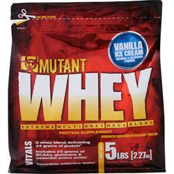 FIT FOODS Mutant Whey - Extreme Multi Whey Mega Blend Triple Chocolate 5 lbs
