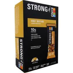 PEACEWORKS KIND Strong Bar Honey Mustard 12 bars