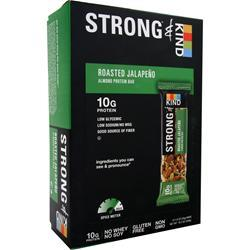 PEACEWORKS KIND Strong Bar Roasted Jalapeno 12 bars