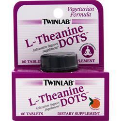 TWINLAB L-Theanine Dots Tangerine 60 tabs