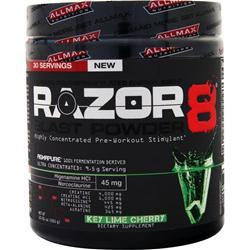 ALLMAX NUTRITION Razor8 Blast Powder Key Lime Cherry 285 grams