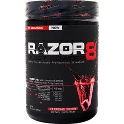 ALLMAX NUTRITION Razor8 Blast Powder Extreme Berry 570 grams