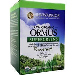 SUNWARRIOR Raw Organic Ormus Supergreens Peppermint 1 lbs