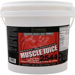 ULTIMATE NUTRITION Muscle Juice 2544 Weight Gain Drink Mix Strawberry 13.2 lbs