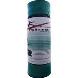 Pro Source Yoga Mat with Carrying Straps Green 1 unit