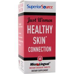 Superior Source Just Women - Healthy Skin Connection  BEST BY 8/17 60 tabs