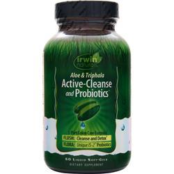 IRWIN NATURALS Active-Cleanse and Probiotics 60 sgels