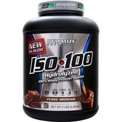 Dymatize Nutrition ISO-100 Fudge Brownie 5 lbs