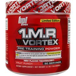 BPI 1.M.R Vortex - Pre Training Powder Fruit Punch 150 grams