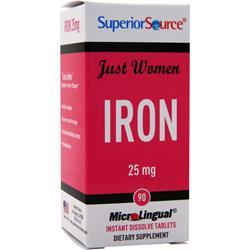 Superior Source Just Women - Iron (25mg) 90 tabs