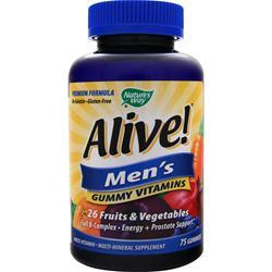 Nature's Way Alive Men's Energy Multivitamin - Multimineral 75 gummy