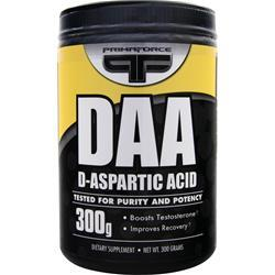 PRIMAFORCE D-Aspartic Acid 300 grams