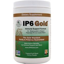 IP6 Gold - Immune Support Formula Powder Tropical Fruit 14.6 oz