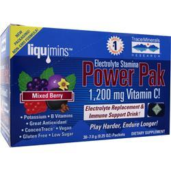 TRACE MINERALS RESEARCH Electrolyte Stamina Power Pak Cranberry 32 pckts