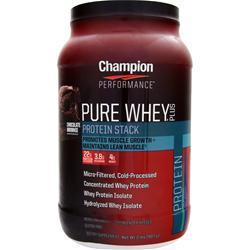 CHAMPION NUTRITION Pure Whey Plus Chocolate Brownie 2 lbs