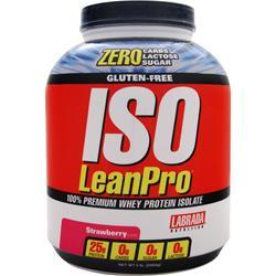 Labrada Iso LeanPro Strawberry BEST BY 7/17 5 lbs