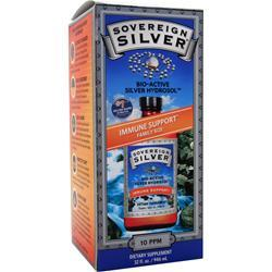 SOVEREIGN SILVER Bio-Active Silver Hydrosol - Immune Support Family Size 32 fl.oz