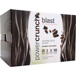 POWER CRUNCH Blast - Proto Whey RTD Double Chocolate 12 bttls