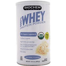 Biochem 100% Whey Protein - Sugar Free Natural Flavor 300 grams