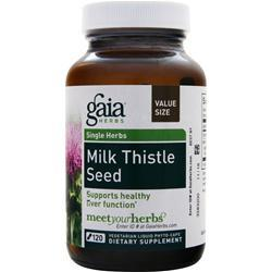 GAIA HERBS Single Herbs - Milk Thistle Seed 120 vcaps