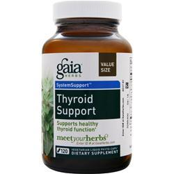 Gaia Herbs System Support - Thyroid Support 120 vcaps