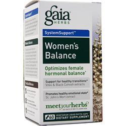 Gaia Herbs SystemSupport - Women's Balance 60 vcaps