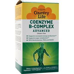 Country Life Coenzyme B-Complex Advanced 120 vcaps