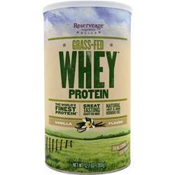 RESERVEAGE ORGANICS Grass-Fed Whey Protein Vanilla 360 grams