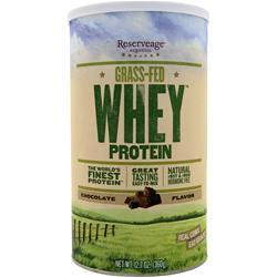 RESERVEAGE ORGANICS Grass-Fed Whey Protein Chocolate 360 grams