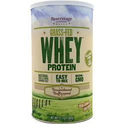 Reserveage Organics Grass-Fed Whey Protein Unflavored 360 grams