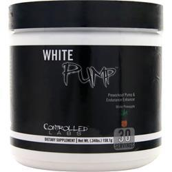 Controlled Labs White Pump - Preworkout Pump & Endurance Enhancer White Pineapple EXPIRES 1/17 158.1 grams